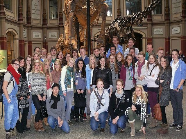 Archiv 2013 14 Bio Leistungskurse Auf Museumsexkursion